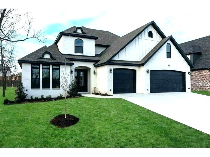 Modern White Houses With Black Trim Modern White House With Grey