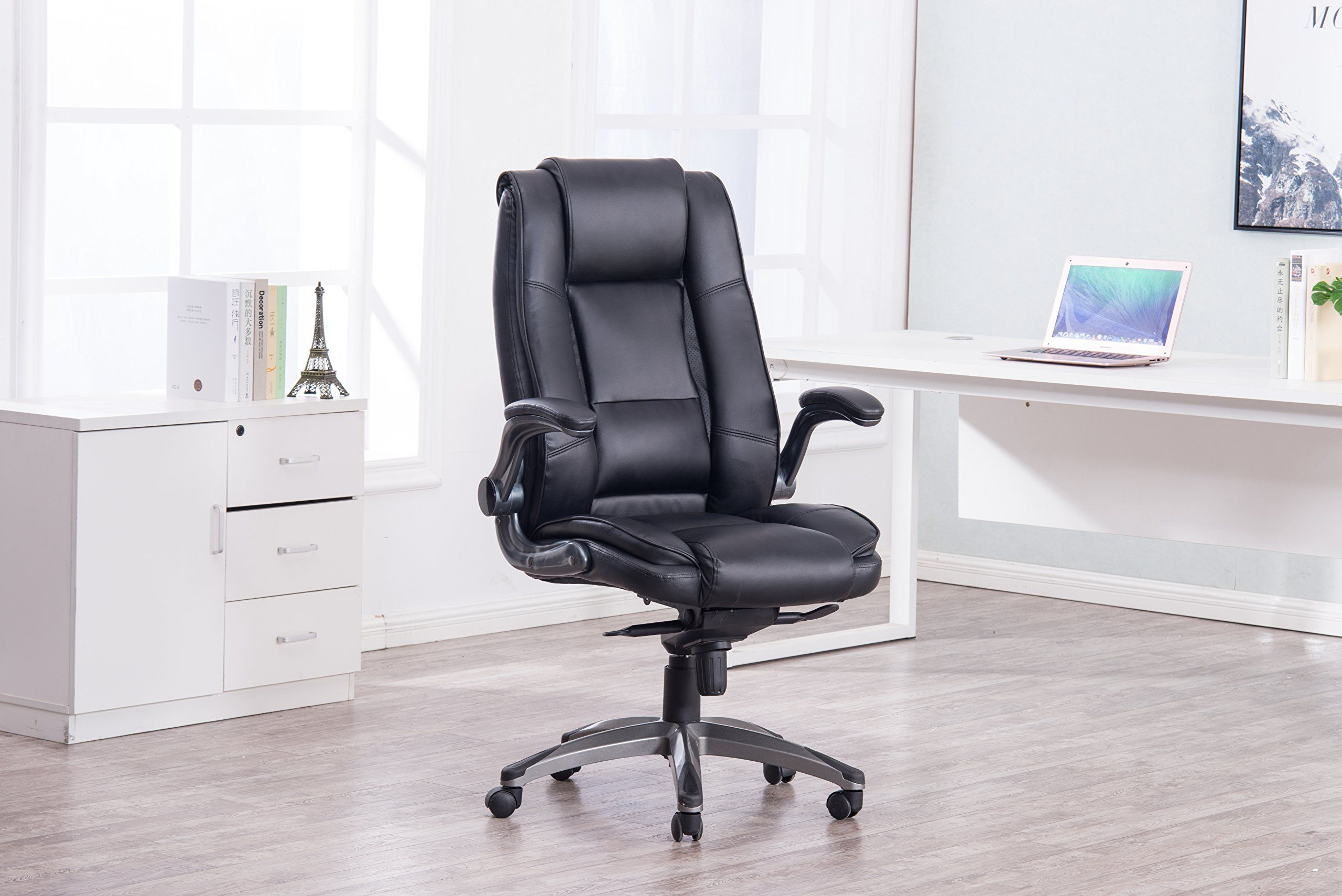 Orthopedic Leather Office Chair