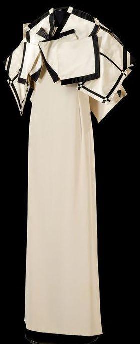 Roberto Capucci - Haute Couture - Robe de Soirée 'Sculpture' - 1987