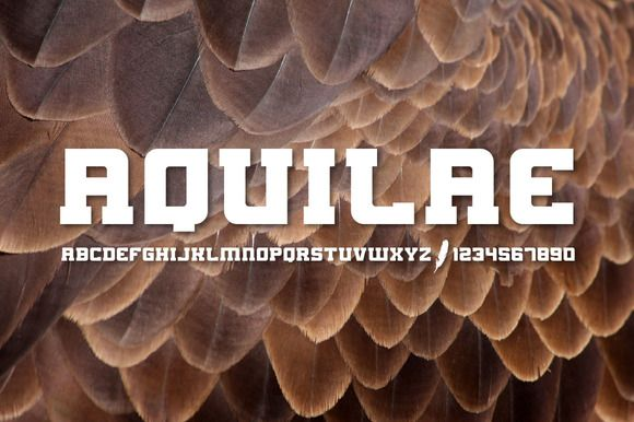 AQUILAE Slab Serif by Dylan Winters Design on Creative Market