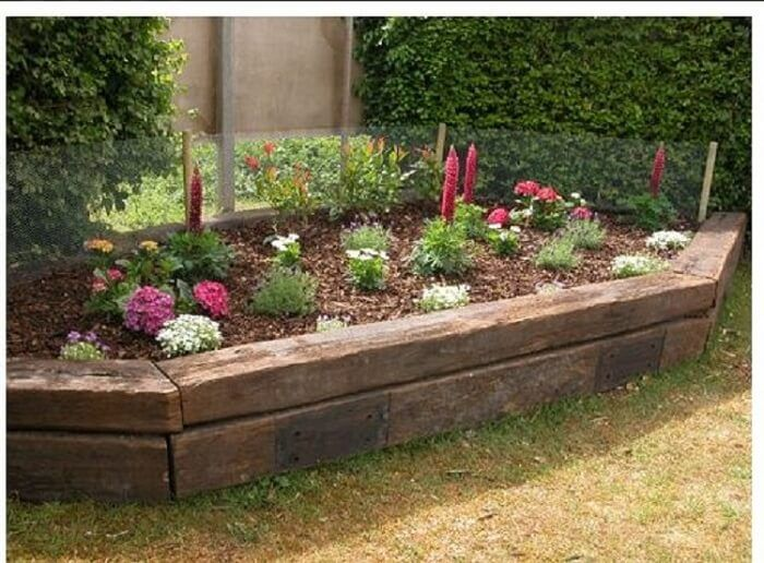 Railroad Ties Landscaping: Everything You Need to Know ...