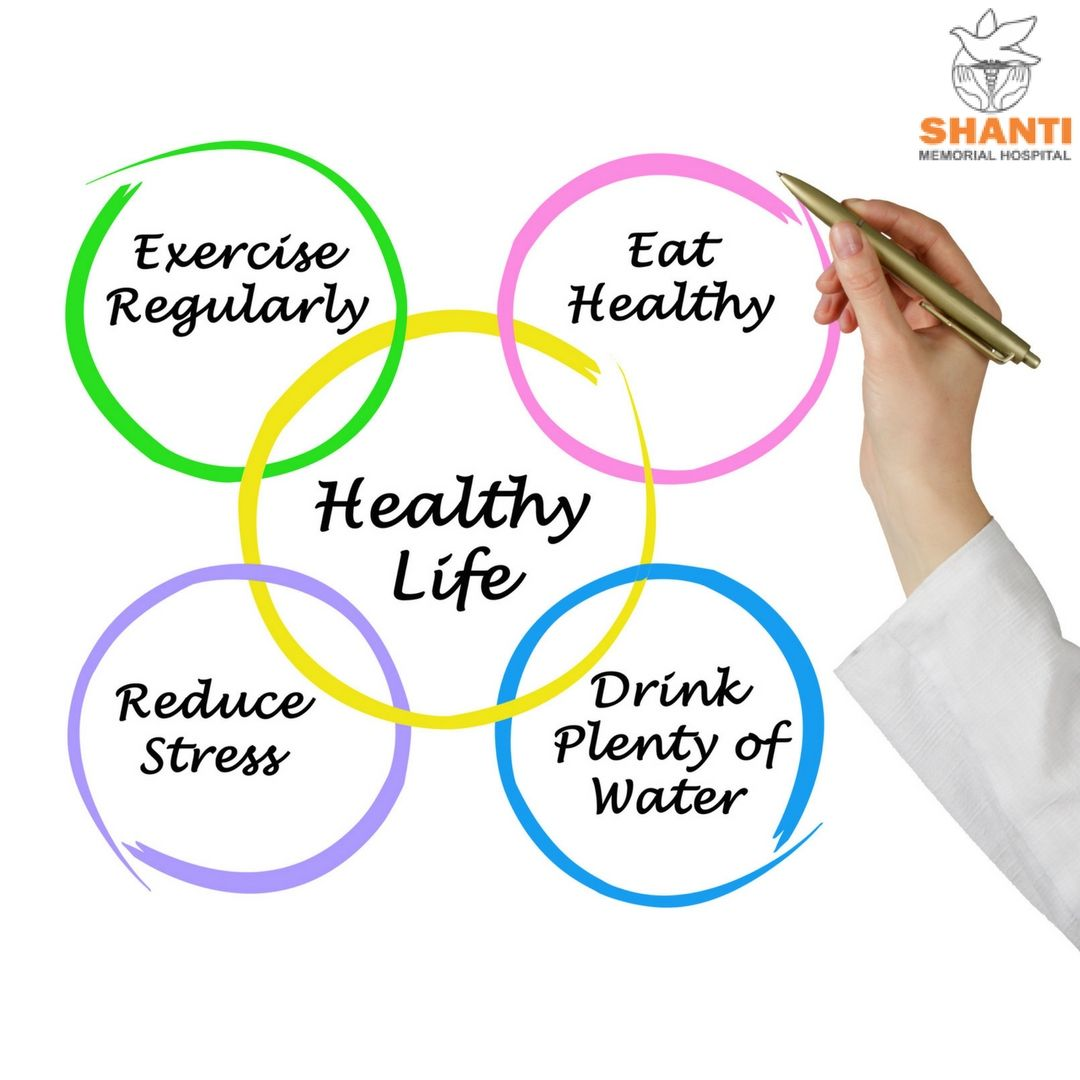 eat healthy live healthy here are some tips to lead a healthy lifestyle eat healthy exercise regularly drink plenty of water reduce stress sleep  [ 1080 x 1080 Pixel ]