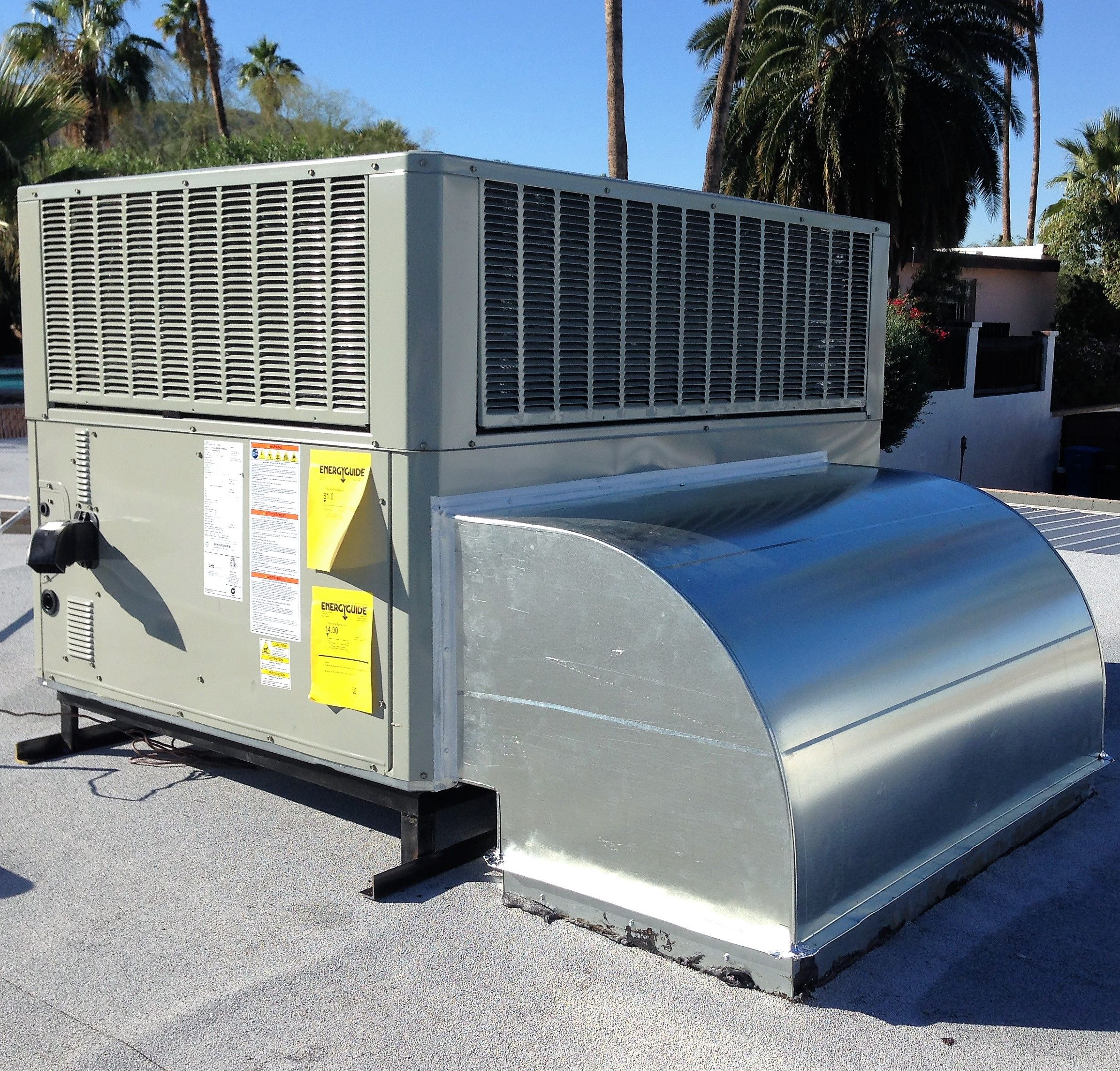 Trane roof top air conditioner Reaction Air 6237034496