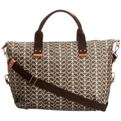 Orla Kiely Womens Weekend Bag Dusk with detachable shoulder strap ...