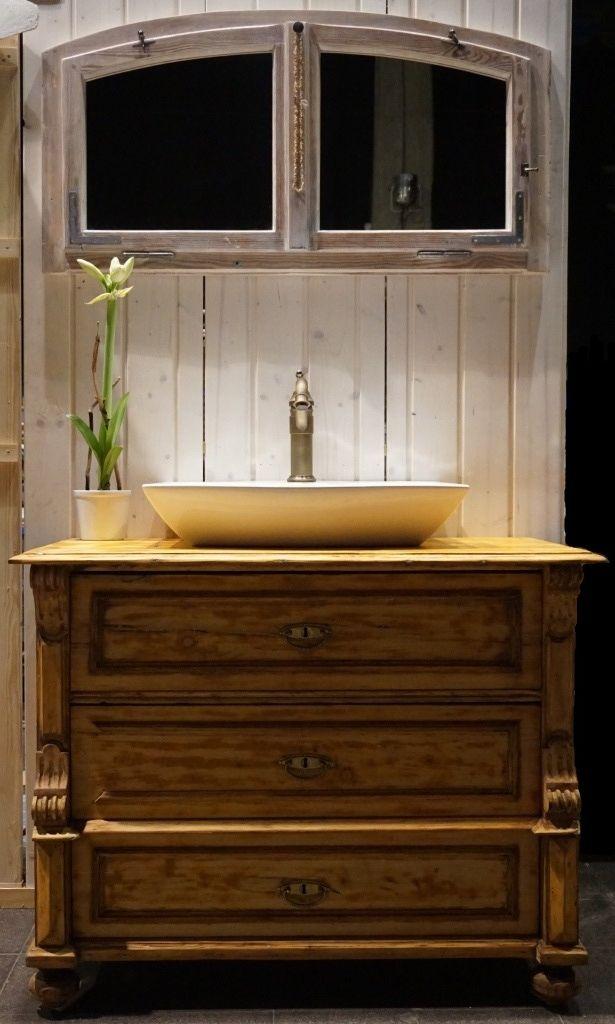Badezimmermöbel Holz Landhaus. mer enn 25 bra ideer om badezimmer ...