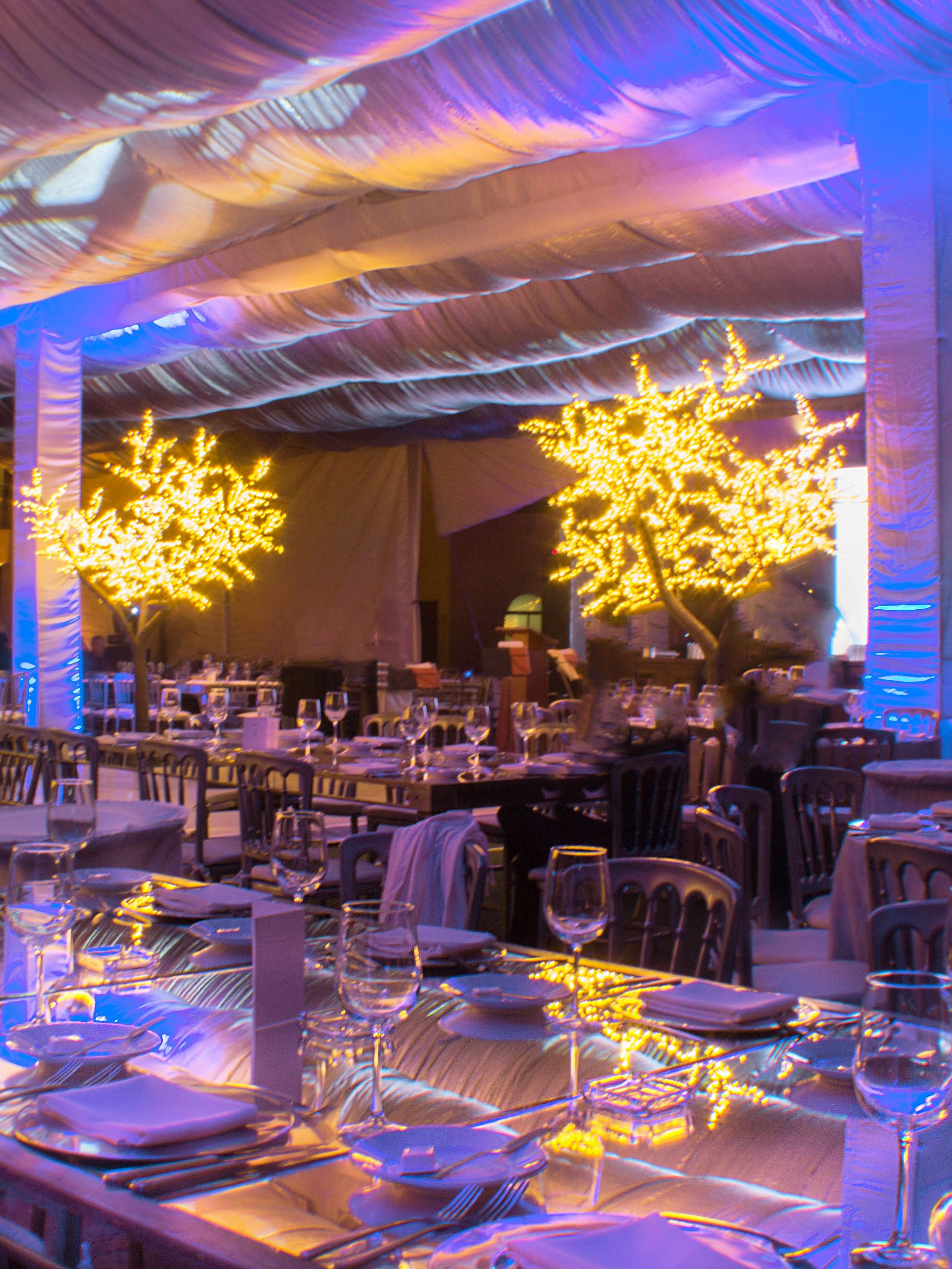Decoraci n evento empresarial iluminaci n eventos for Decoracion de salones para eventos