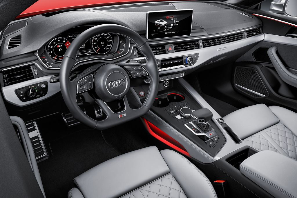 Topic: Sporty elegance – the new Audi A5 and S5 Coupe   Audi a5 interior, Audi  s5, Audi a5   Audi A5 2017 Ambient Lighting      Pinterest