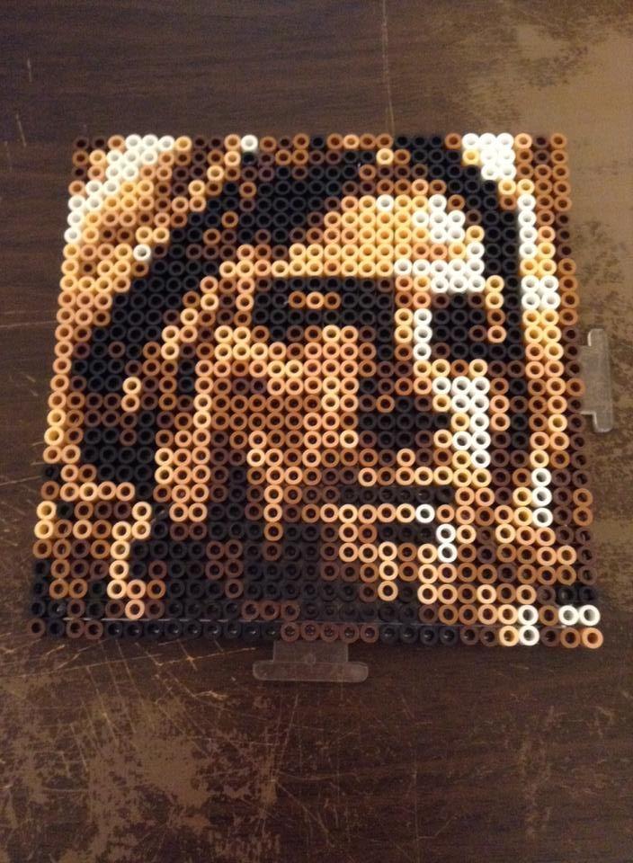 29x29 Kurt Cobain portrait perler beads by Werbenjagermanjensen on ...