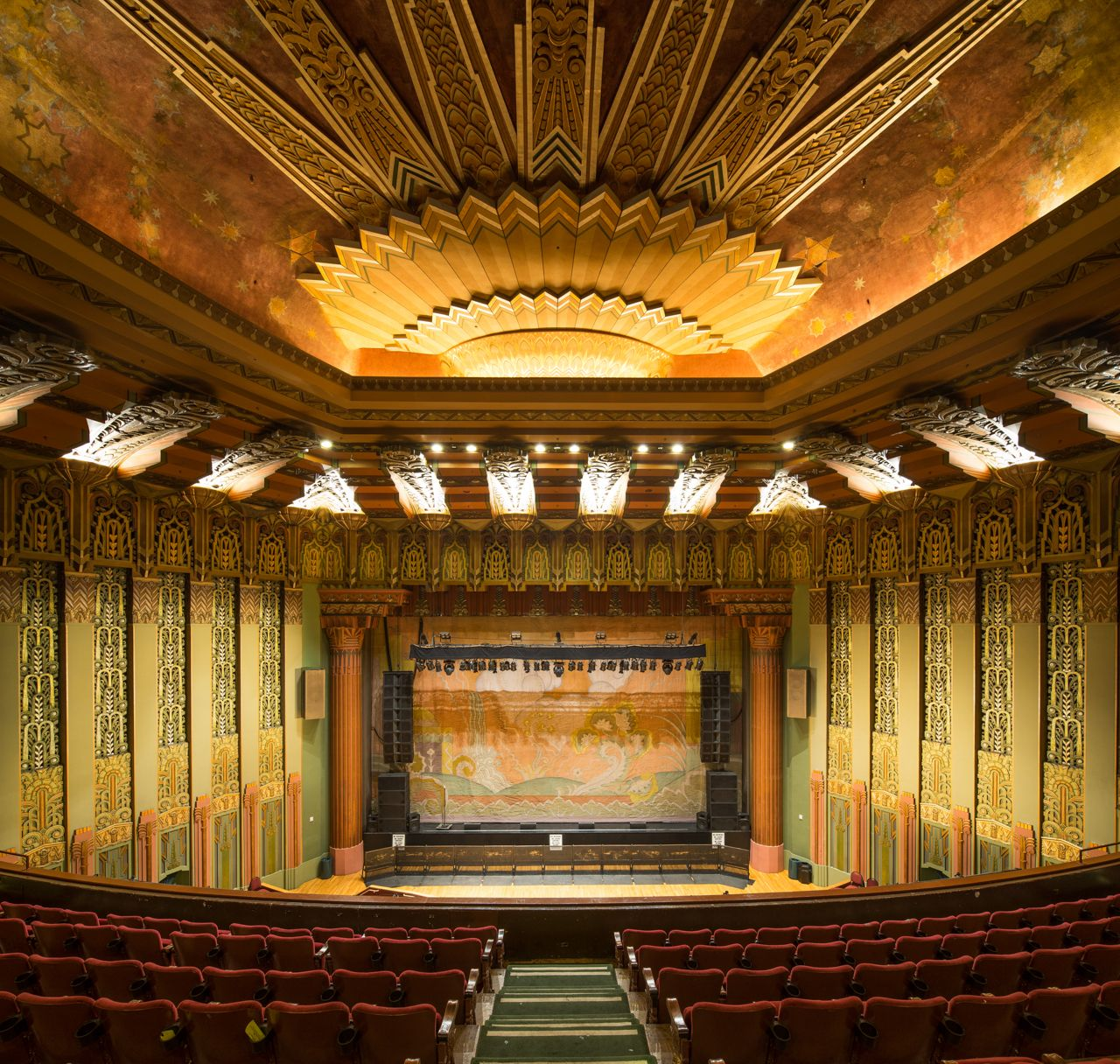Cgmfindings Art Deco Wiltern Theater Los Angeles Still Exists Architecture Interior