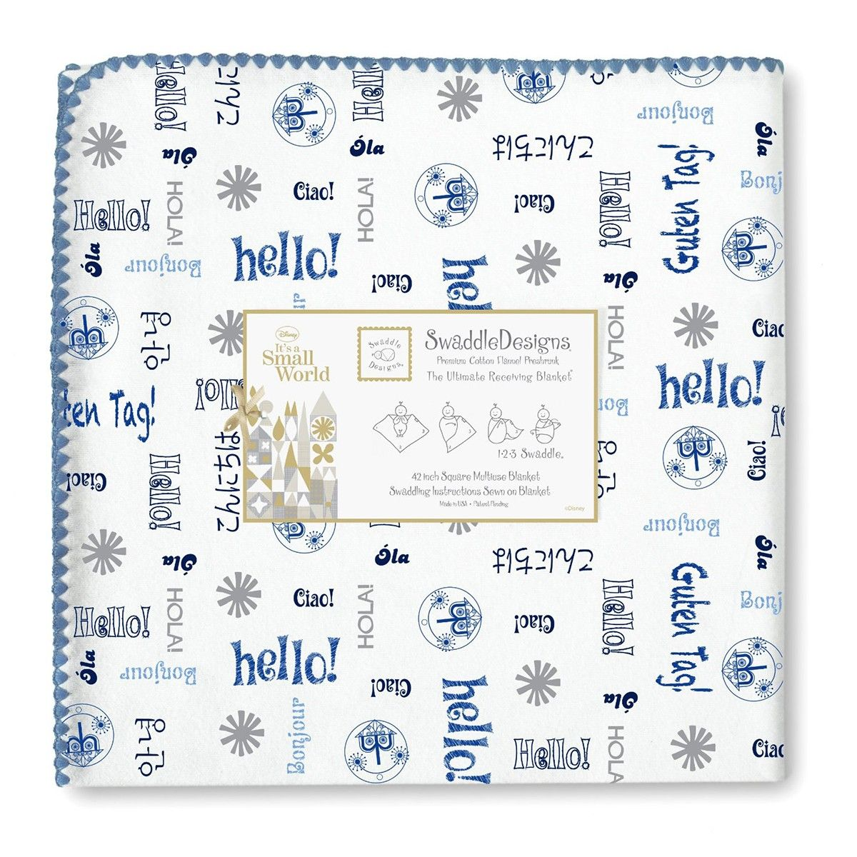 Say Hello Around The World In This Bilingual Blanket Springtime