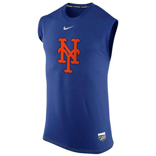 New York Mets AC Dri-FIT Legend Logo Sleeveless T-Shirt - MLB. 7b50d491f