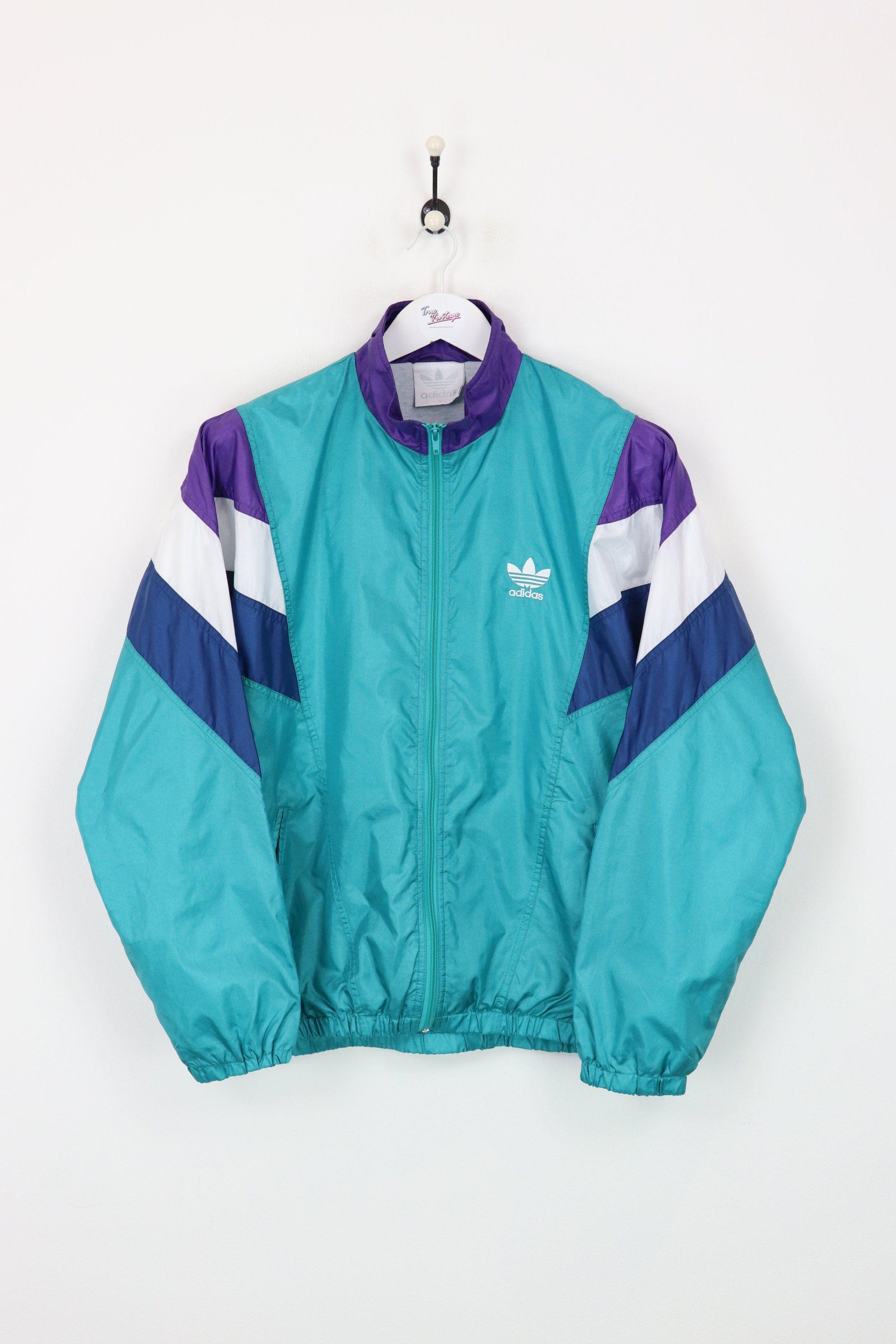 vintage adidas shell suit jacket