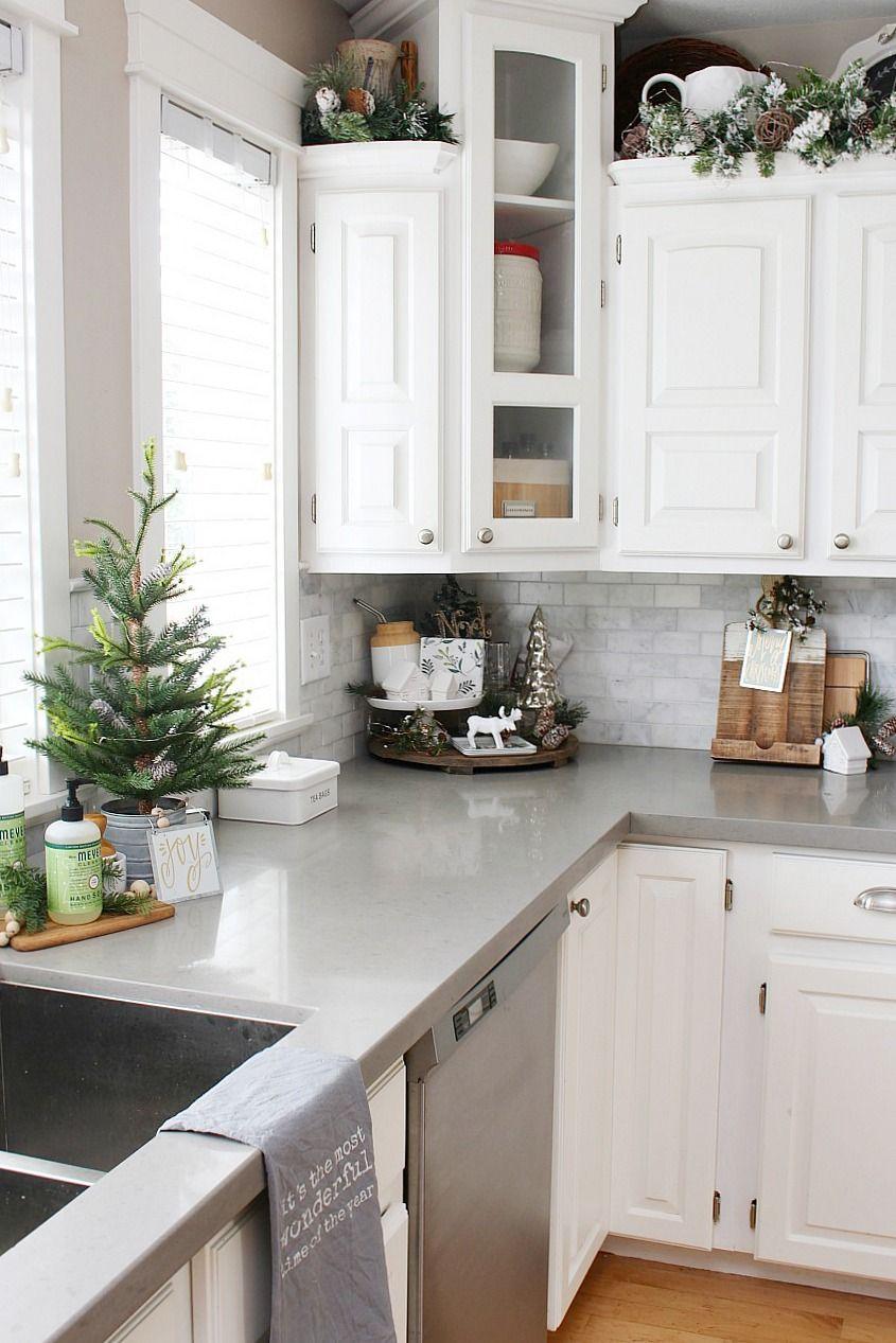 Christmas Kitchen Decorating Ideas Kitchen Counter Decor