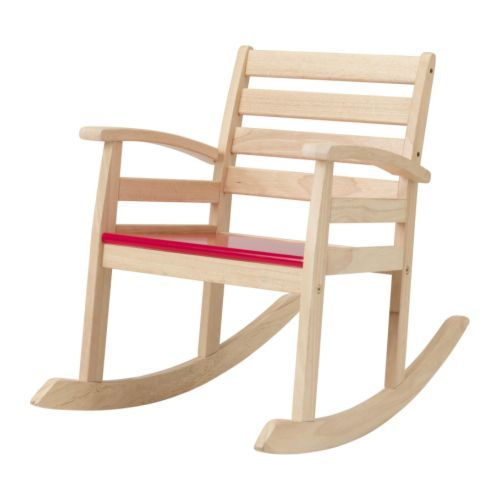 Groovy Rofylld Childrens Rocking Chair From Ikea So Simple And Gmtry Best Dining Table And Chair Ideas Images Gmtryco