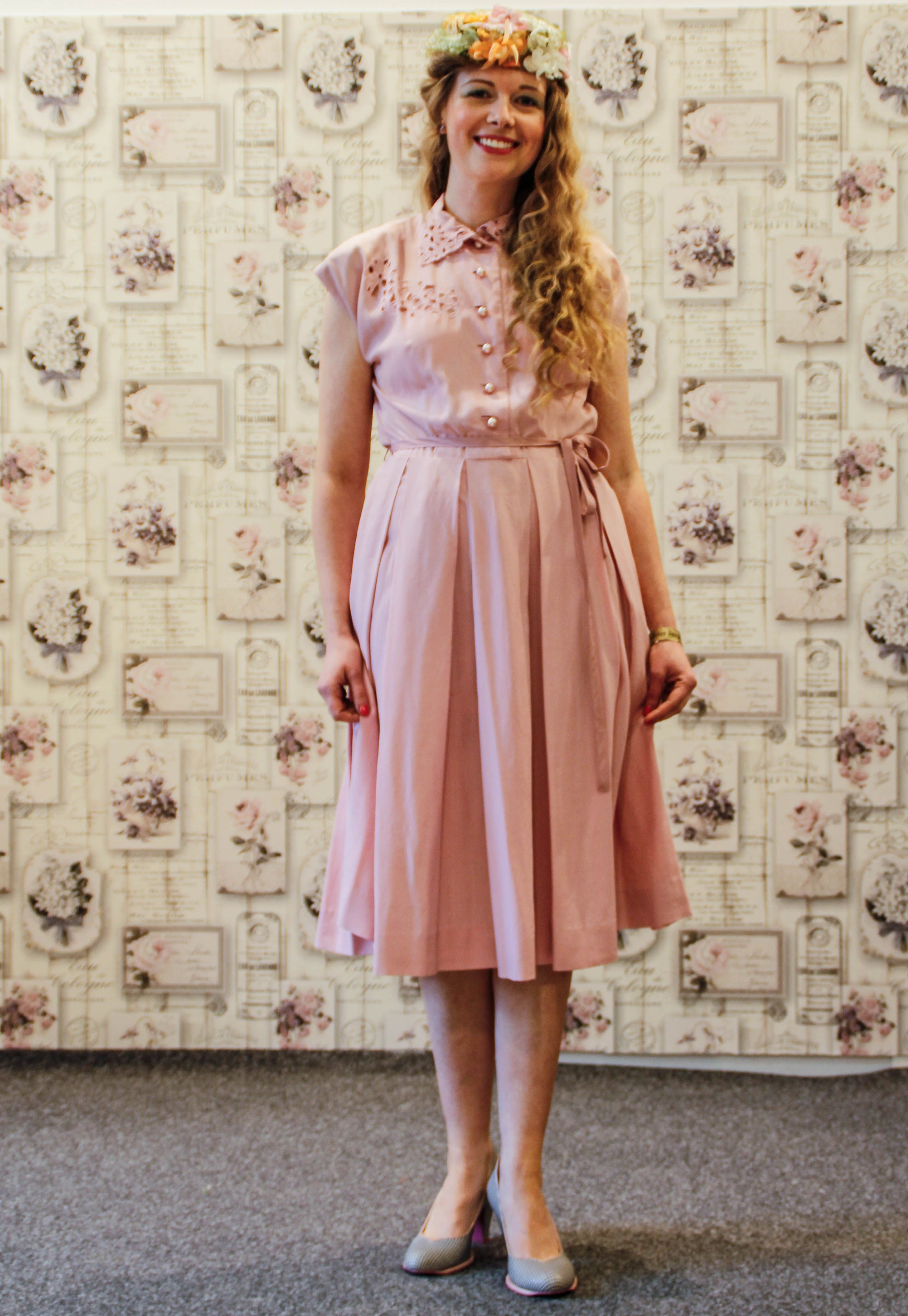 Kleid im 30er stil