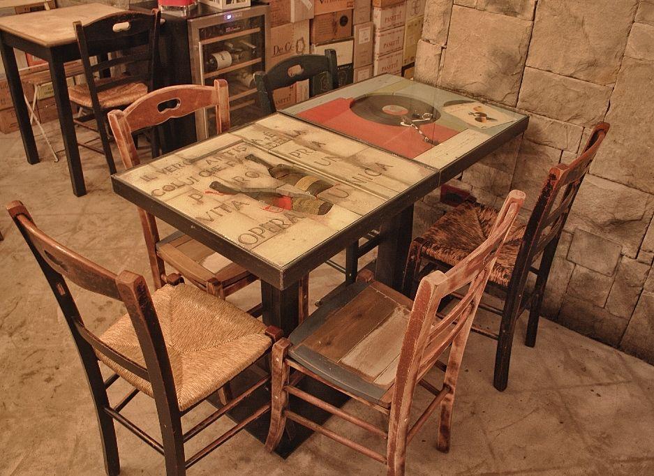 Tavolo up down ~ Vibrazioni art design tavolo e sedie design molto di più bei