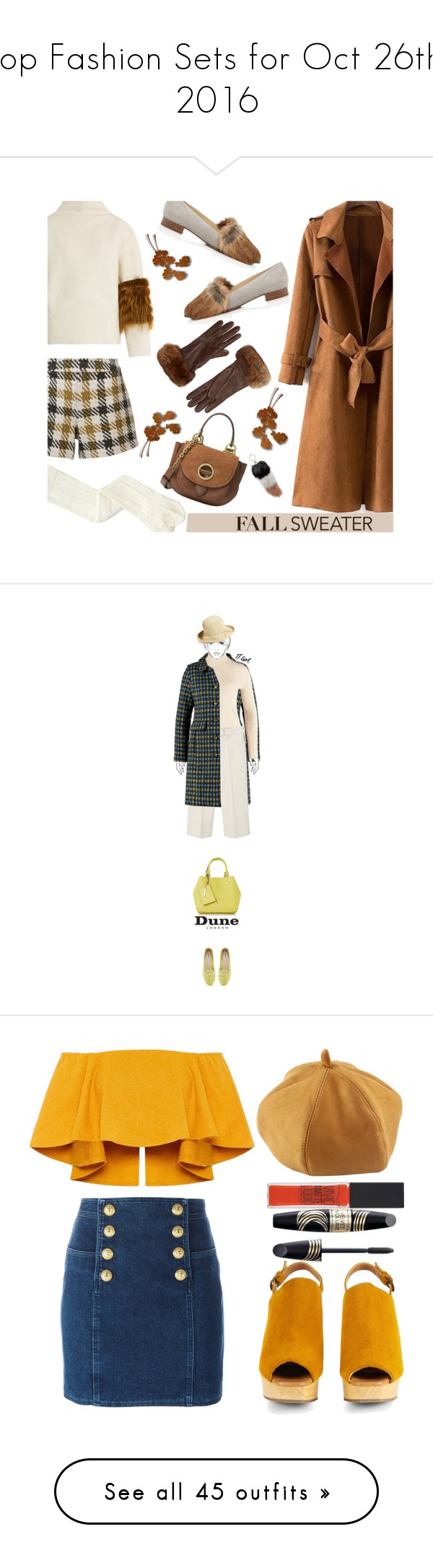 """Top Fashion Sets for Oct 26th, 2016"" by polyvore ❤ liked on Polyvore featuring Saks Potts, Alice + Olivia, Alexandre Birman, Jocelyn, Barneys New York, MICHAEL Michael Kors, polyvorecommunity, polyvoreeditorial, fallsweaters and Dorothy Perkins"