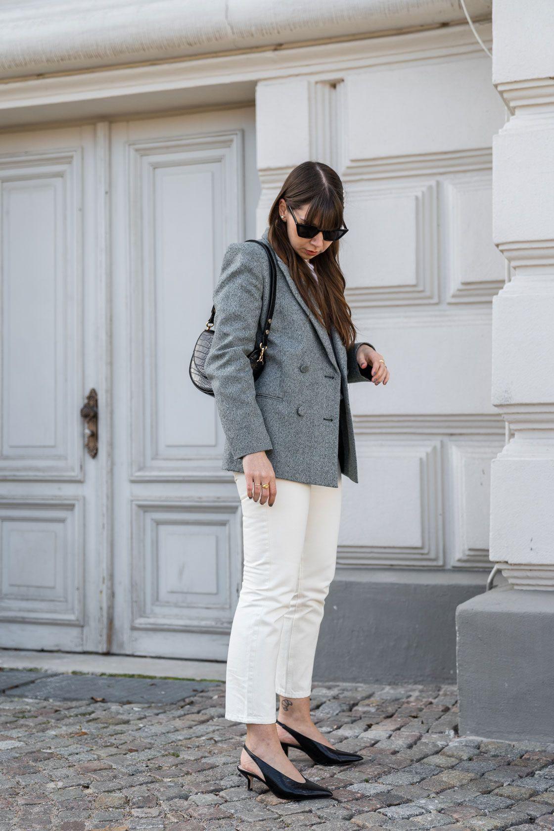 Weiße Jeans sind im Frühling und Sommer echte Allrounder