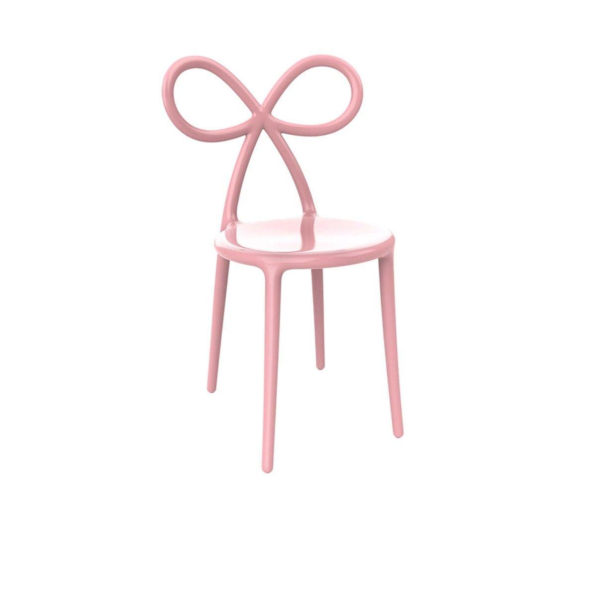 chaise noeud rose nika zupanc designer slov ne l univers girly et d cal signe la chaise. Black Bedroom Furniture Sets. Home Design Ideas