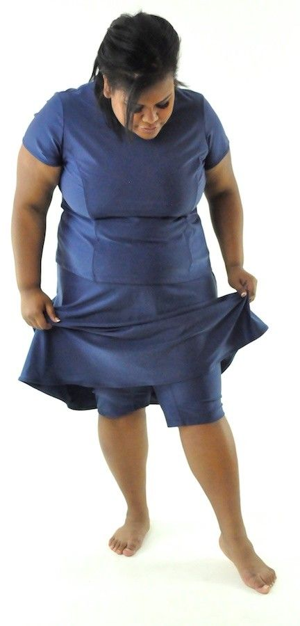 305c9b60acd Freestyle Swim Skirt / Womens Plus Size | Real Christian Modesty ...