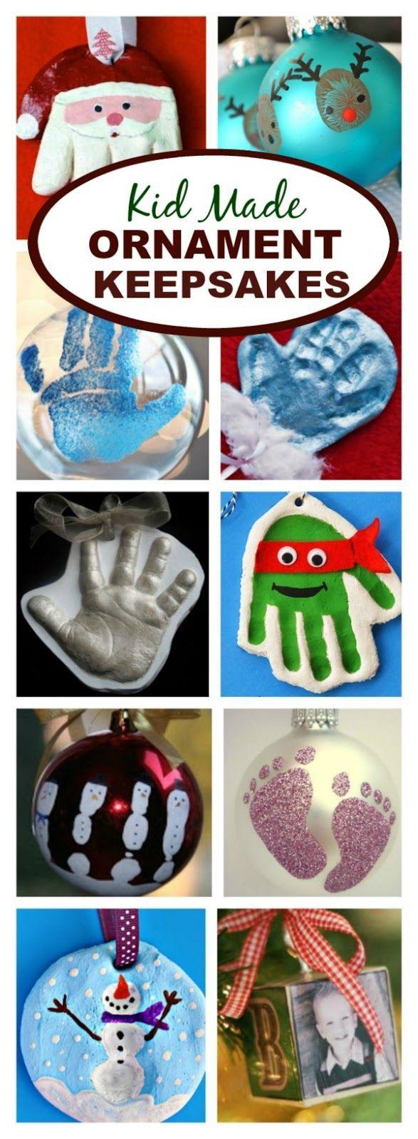 Toddler Christmas Craft Gift Ideas Part - 46: Top 20 DIY Keepsake Ornament Kid Crafts | Keepsakes, Ornament And Craft