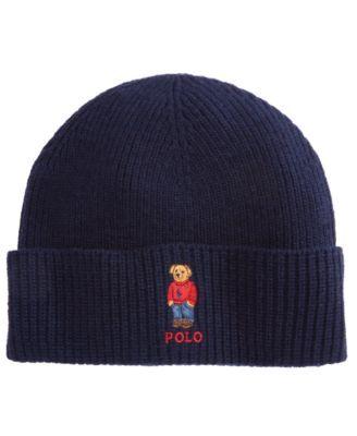 Polo Ralph Lauren Men s Polo Bear Cuffed Hat - Charcoal 15d863b47780