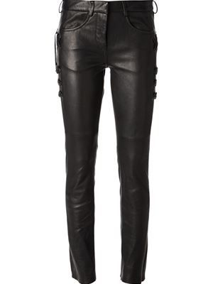 aec52c4147 Farfetch ~ Isabel Marant 'Harper' Skinny Trousers | STYLE: Clothing ...