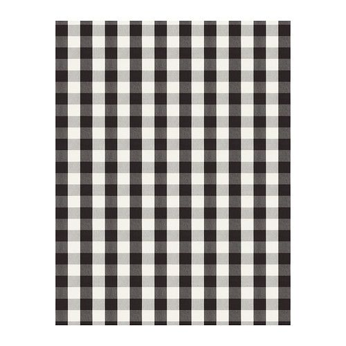 BERTA RUTA Fabric - big check black - IKEA 99d5ab3ef5c