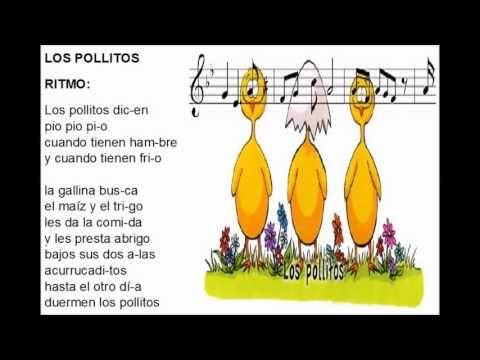 Cancion Los Pollitos Quot Pulso Acento Y Ritmo Quot Youtube