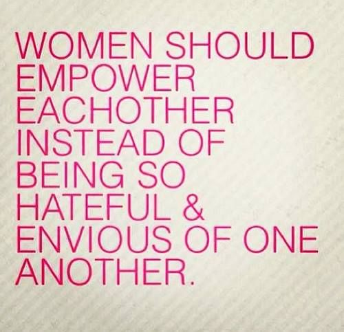 We should empower each other