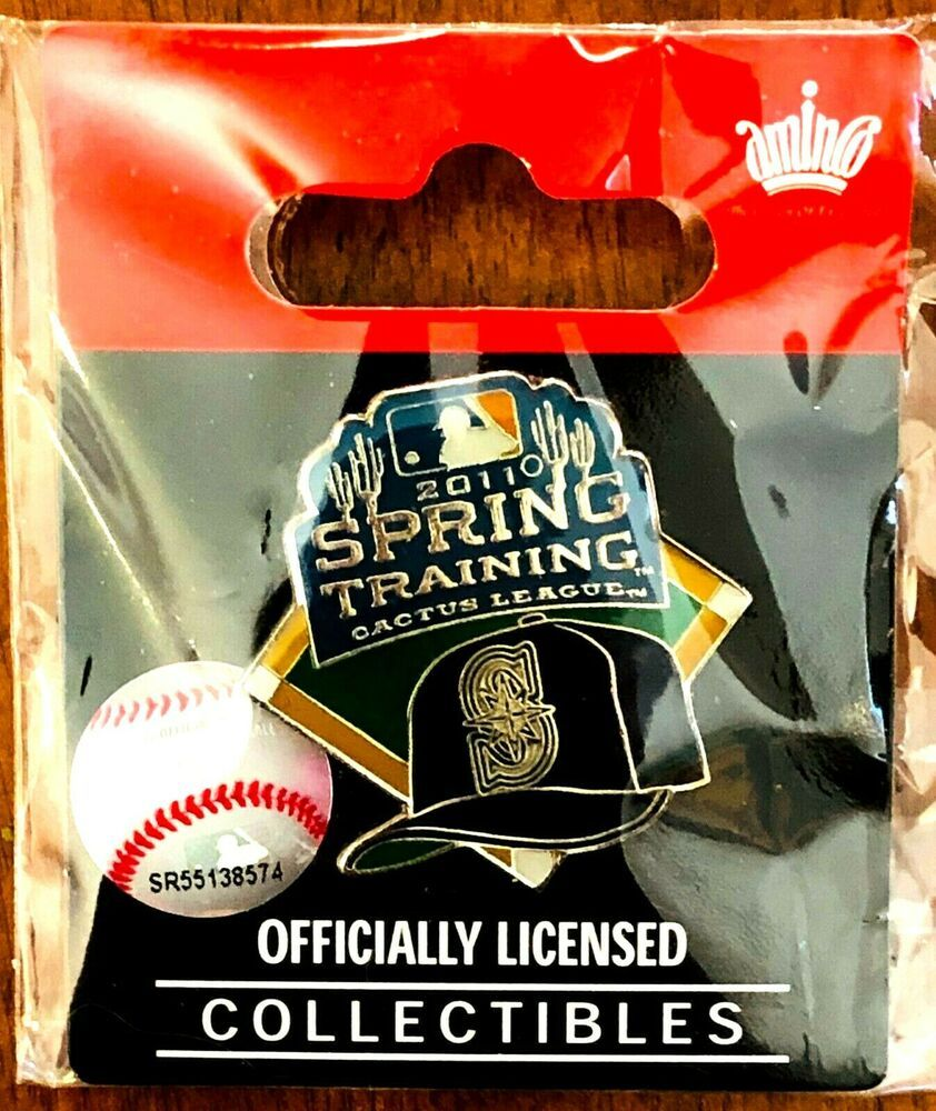 the best attitude ae3f9 3981b New 2011 Seattle Mariners Spring Training Cactus League MLB ...