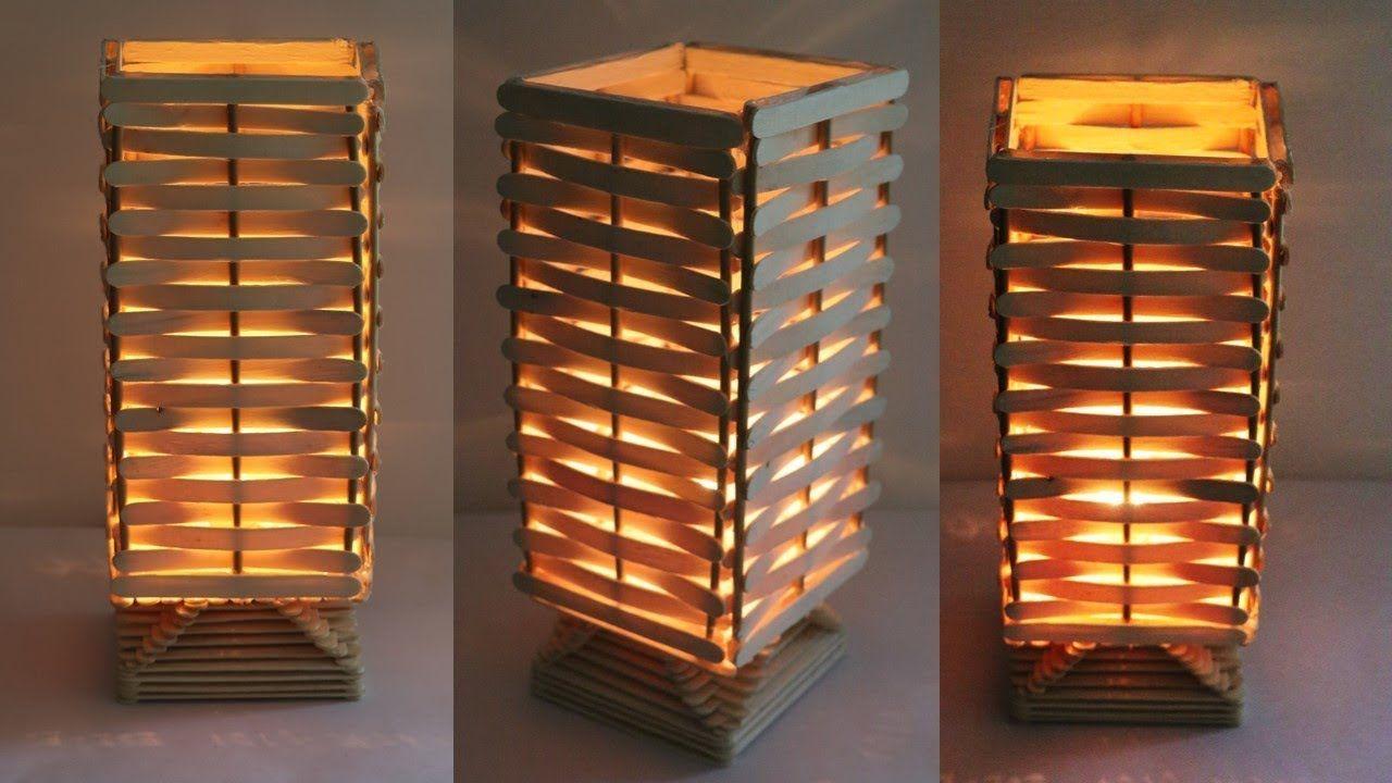 How To Make Night Lamp At Home Diy Handmade Lamp Raj Easy