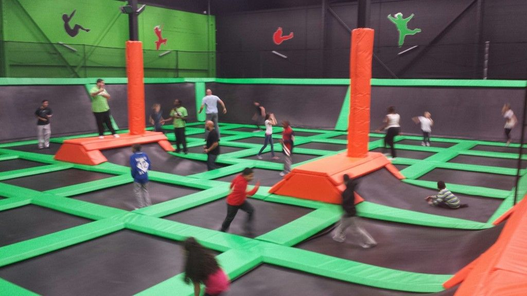 Main Court at Launch Trampoline Park - Hartford, CT | Launch ...