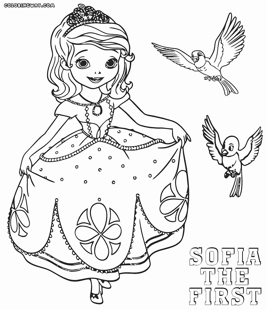 Sofia the First Coloring Book New 42 sophie Coloring Pages ...
