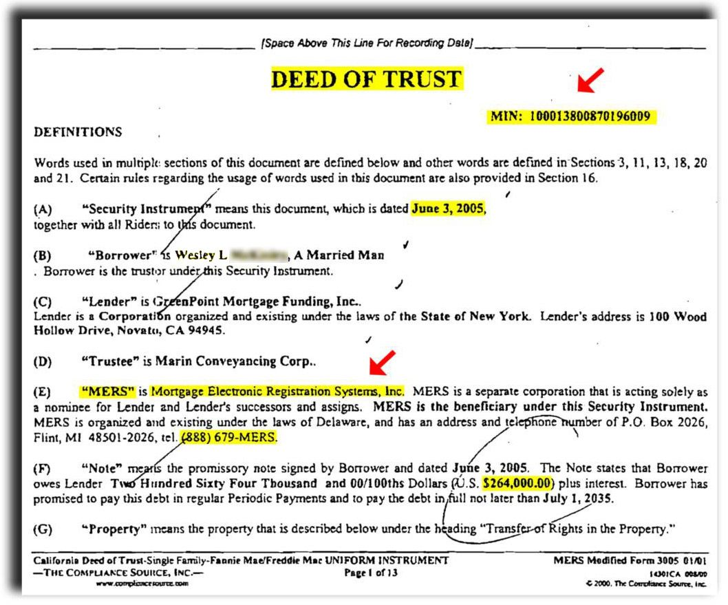 Residential  Landsakes  Example Of Deed Of Trust  Real State