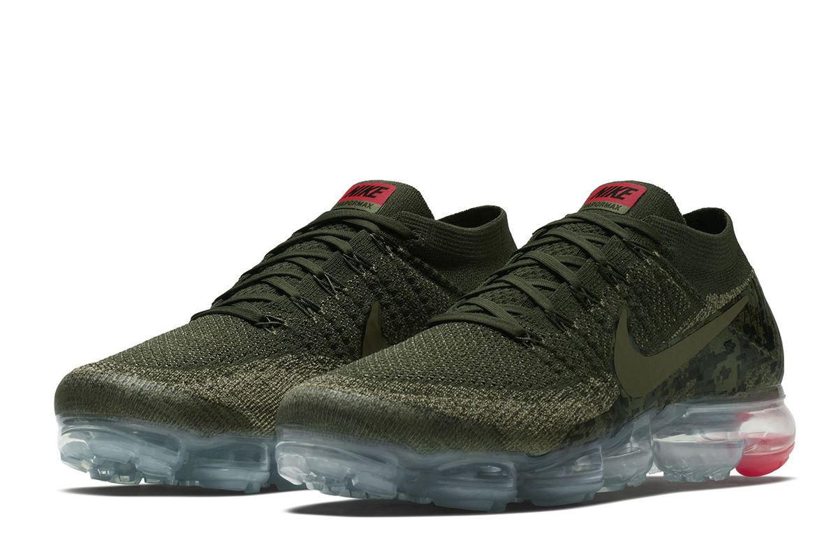 "new concept 96852 09159 Nike Air VaporMax Flyknit ""Camo"" Detailed Pictures - EU Kicks Sneaker  Magazine"