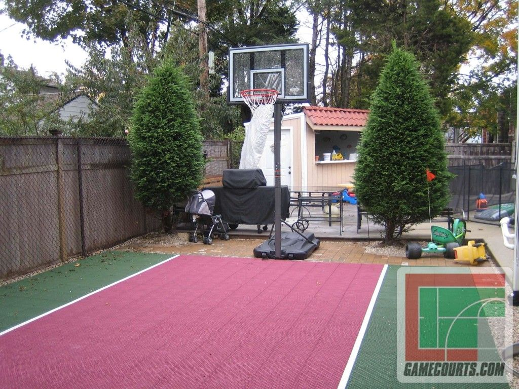 backyard basketball courts toronto boys pinterest backyard