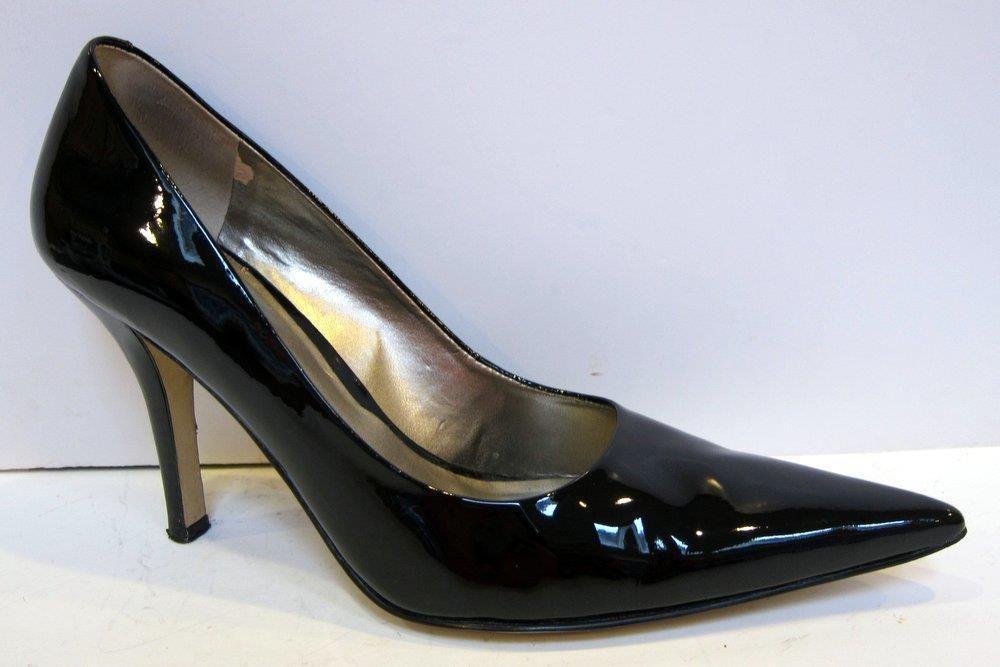 Nine West  Freda  Patent Black Leather Stiletto Pump Size 8M  NineWest   PumpsClassics 721d93741