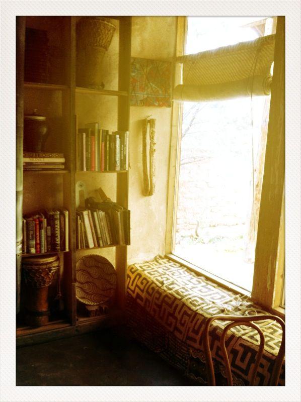 reading corner | Home garden design, Home, Book nooks