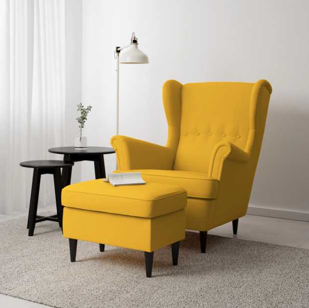 Deal Alert 15 Ikea Pieces With New Lower Prices  Living Room Adorable Yellow Living Room Chairs Design Ideas