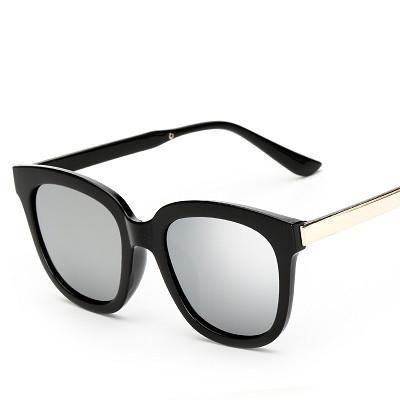 f0a13c076a5 Fashion Brand Designer Sunglasses Women Big Square Frame Vintage ...