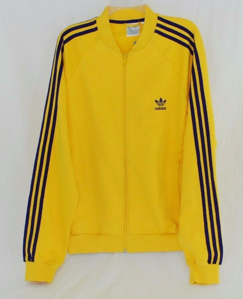 Adidas Originals Five-Two Collection Large Yellow   Purple Jacket Three  Stripes  adidas  CoatsJackets aedd912b7fe