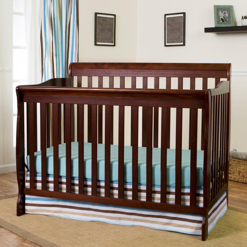 Dream On Me Ashton 5 In 1 Convertible Crib 660 E Cribs Convertible Crib Baby Cribs