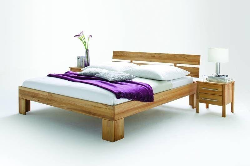 Bett Kernbuche 200x200x83 natur geölt KOBLENZ #070 Jetzt bestellen - schlafzimmer natur