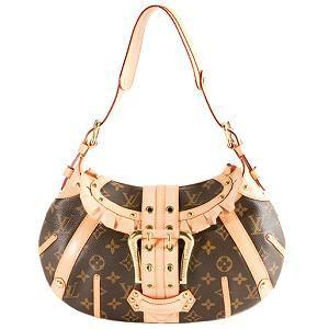 Louis Vuitton Limited Edition Monogram Canvas Leonor Shoulder Handbag