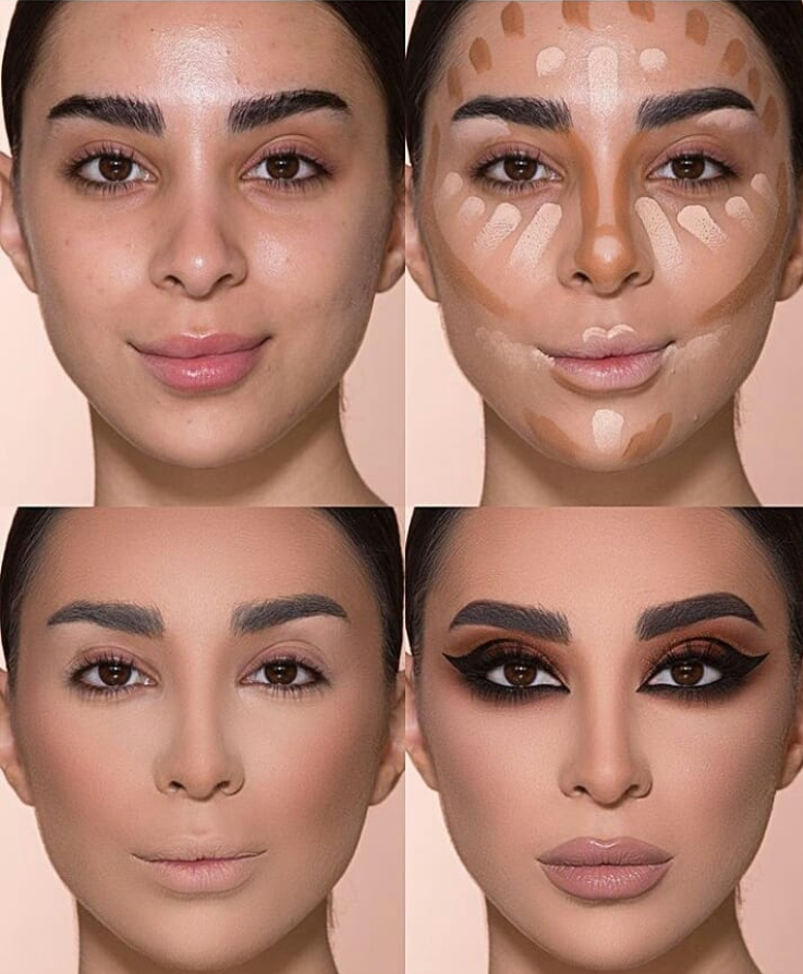 24 Perfect And Best Contour Highlight Makeup Tutorial For Beginners Fashion Lifestyle Blog Over30 Highlighter Makeup Contouring For Beginners Contour Makeup