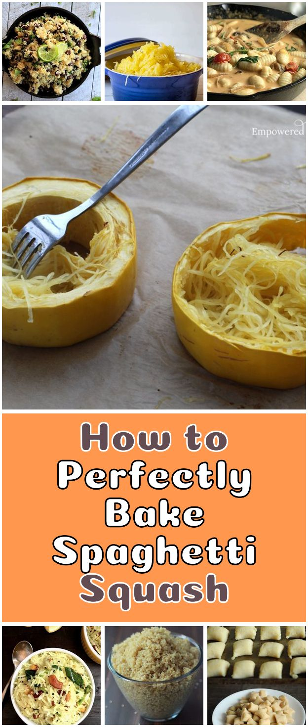 How To Perfectly Bake Spaghetti Squash No More Mushy Broken