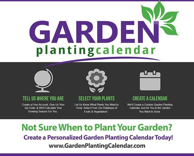 GardenPlantingCalendar - a great online tool for creating custom