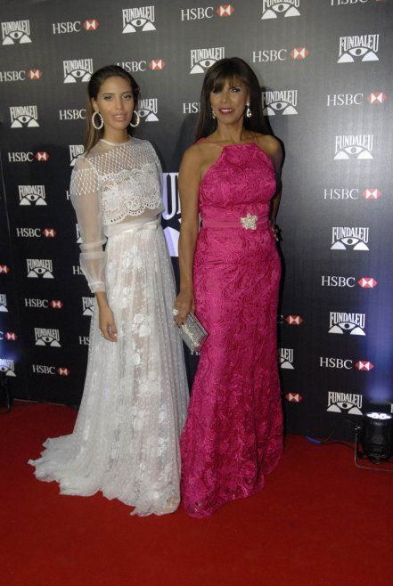 Anamá Ferreira y su hija Taina | Moda argentina | Pinterest