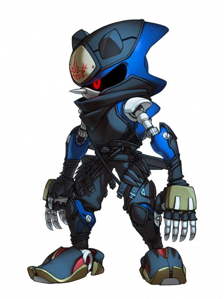 Metal Sonic By Inualet Videogamedesigner Sonic Sonic Fan